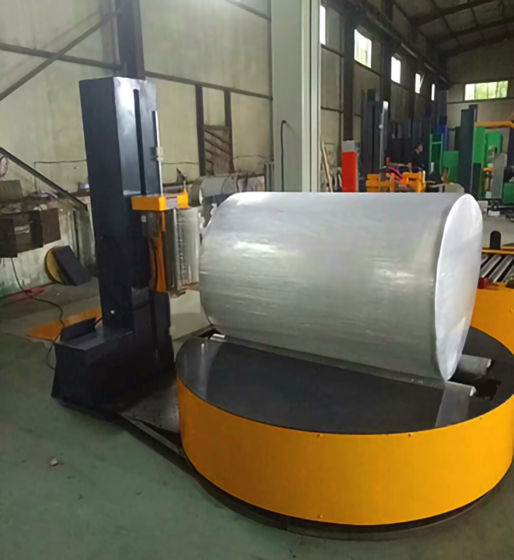RF2000Y圆筒式缠绕包装机